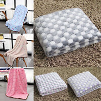 Pet Blanket Fleece Thicken Mat Dog Cat Cover Kitten Puppy Soft Bed Pad S & M & L