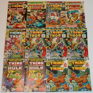 Marvel Comics Two In One Lot of 24 8 to 76 Annuals Thing Moon Knight Thor Hulk
