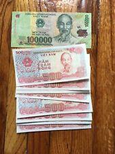 105,000 Vietnamese Dong Banknotes