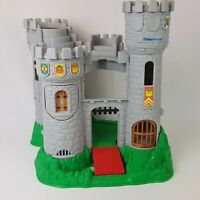 Fisher Price Great Adventures Medieval Castle #7110 1994 Vintage Roblox Knights