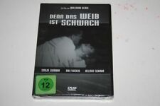 DENN DAS WEIB IST SCHWACH -- DVD NEU & OVP FSK 12 -- Kai Fischer , Sonja Ziemann