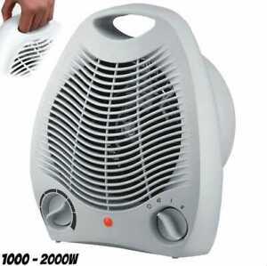 Calefactor eléctrico Aire 2000 W Calentador Baño