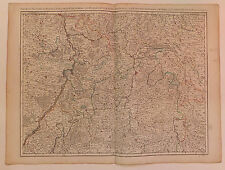 Allemagne  Palatinat du Rhin Wirtenberg carte map par H. Jaillot  XVIIIème s