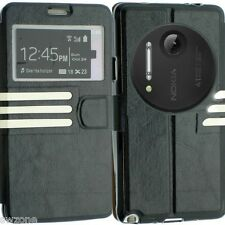 FOR NOKIA LUMIA 1020 LEATHER CASE COVER WALLET POUCH FLIP SLIM BACK SKIN N1020