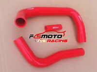 For Toyota Land cruiser HJ75 2H 1984-1990 85 86 Silicone Radiator Hose Kit RED