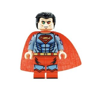 ⎡MINIFIGS FACTORY⎦Custom Thought Robot Superman Minifigure
