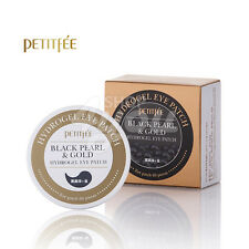 Petitfee Black Pearl & Gold Hydrogel Eye Patch (60 sheet) +Free Sample