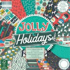 """Sample craft paper 200gsm """" Jolly Holiday"""" scrapbooking"""