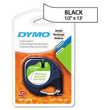 Dymo 10697 LetraTag Labelmaker White Paper Tape LT Labels
