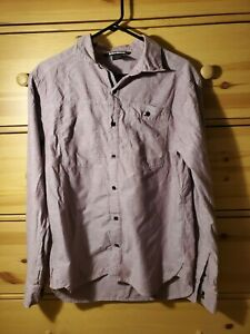 Black diamond chambray shirt mens Large
