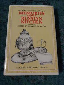 Memories from a Russian Kitchen - COOKBOOK GOOD Condition, great recipes!