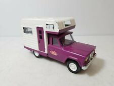 Vintage 1960's Tonka Jeep Camper 52030 Purple Pressed Steel Model Car Truck