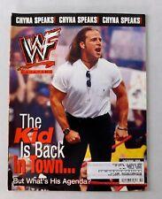 Shawn Michaels October 1998 WWF Wrestling Magazine WWE Wrestler D'Lo Poster