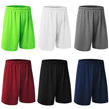 Men Basketball Running Loose Gym Sports Half Trousers Shorts Pants Quick-dry