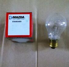 LAMPADINE INCANDESCENZA MAZDA E27 24 VOLT CHIARE 40W KIT DA 5 PEZZI