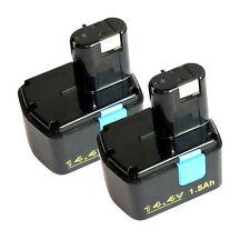 2X Battery for Hitachi 14.4V EB1414S EB 1412S, EB 1414, EB 1414L, EB 1414S C-2