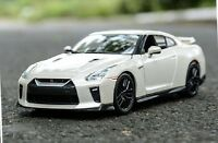 Bburago 1:24 2017 NISSAN SKYLINE GTR GT-R Racing Car Vehicle Diecast Model White