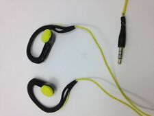 Sennheiser OMX 680 Adidas Sports In-Ear Headphones Gray/Yellow For Parts *Read*