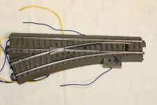 MARKLIN 24611 Aiguillage gauche 188.3mm  24.3 degrés voie C + moteur 74491