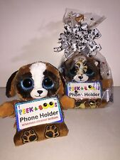 """TY PUPS 3 1/2"""" PEEK-A-BOOS SMART PHONE HOLDER IN CELLO-NEW WITH A TAG"""