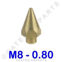 """1 m de long 1//2 /""""Flexi jaune libération rapide gaz tuyau de raccordement demi-pouce 15mm"""