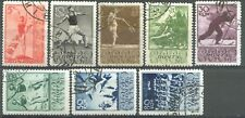 Russia / USSR, 1938, Sc# 698-705, Sport In the USSR, full set, CTO/used