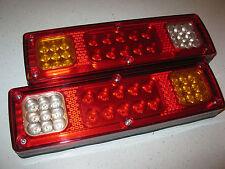 Brand New Pair Of Universal LED Tail Lights for Truck Ute Trailer Caravan 12V