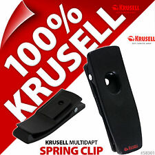 New Krusell Multidapt SpringClip Spring Belt Clip Kit For Classic + Orbit Cases