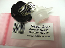 Reset Gear Kit for Brother TN-750, TN-720 Toner Cartridge Refill (READ) !