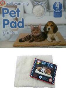 Pet Pad Self Heating Thermal Radiator Heated  Washable Mat For Cats and Dogs