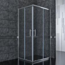 Duschkabine Eckeinstieg Duschabtrennung Echtglas Schiebetür Dusche Duschwand ESG