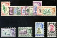 Cayman Islands 1962 QEII set complete superb MNH. SG 165-179. Sc 153-167.