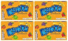 4 x Runts Candy Theater Box American Retro Sweets Formally Wonka 141.7g - New