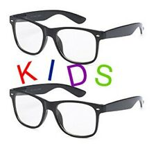 6a5394b3801 SMALL KIDS CLEAR LENS GLASSES Classic Nerd Hipster Geek Toddler Children  WayFare