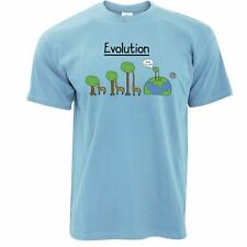 Novelty T Shirt Evolution Of A Giraffe And Tree Rude Adult Parody Joke