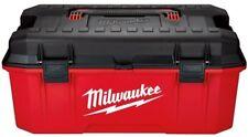 26 in Jobsite Work Tool Box Lockable Lid Portable Tools Storage Transporting Box