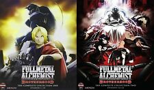 Fullmetal Alchemist Brotherhood . Complete Series . Collection 1 2 . 10 Blu-ray