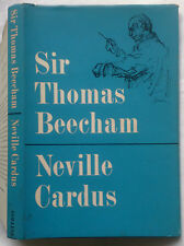 NEVILLE CARDUS.SIR THOMAS BEECHAM.1ST H/B D/J 1961.B/W PHOTOS.MUSICIAN