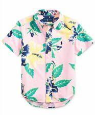 Little Boys Polo Ralph Lauren Foral poplin Shirt Size 7