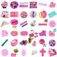 Silicone Fondant Mold Cake Decorating Chocolate Baking Mould Sugarcraft Tool<t