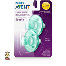 Avent Soothie Pacifier or Soother, 0-3 months, 2 pack, green, BPA Free