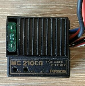 Futaba ESC MC210CB Electronic Speed Control ESC Forward & Reverse Tested Tamiya