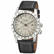 Glycine 3956.11-66.LB9U Airman No. 1 Purist Automatic 40mm Silver Dial - GL0165
