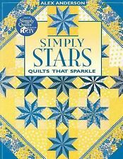 Simply Stars Quilts that Sparkle AlexAnderson 199696 Pages