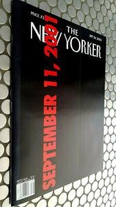 NEW YORKER MAGAZINE SEPTEMBER 11 2001 TWIN TOWERS NEWSSTAND GEM  MINT !!
