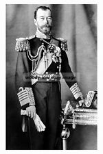rp16956 - Russian Tzar Nicholas II - photograph 6x4