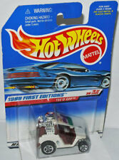 1999 First Editions-Tee 'd off-White - 1:64 Hot Wheels #683