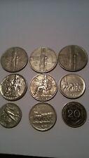 Italia Regno Vittorio Emanuele III lotto 9 monete