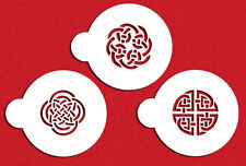 Celtic Knots Cake Stencil by Designer Stencils #C317