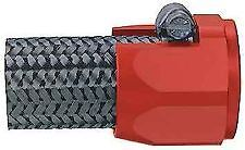 """Aeroquip 1004 -10 AN Pro Clamp Hose Cover .560"""" Red Anodized -10AN Dress Up"""